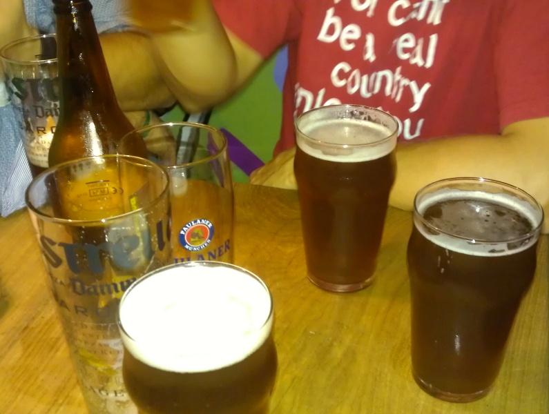alaus daugėja